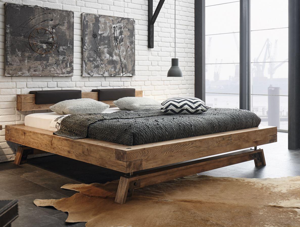 hasena oak vintage massivholzbett bloc 16 inca nakio stabil g nstig kaufen m bel universum. Black Bedroom Furniture Sets. Home Design Ideas