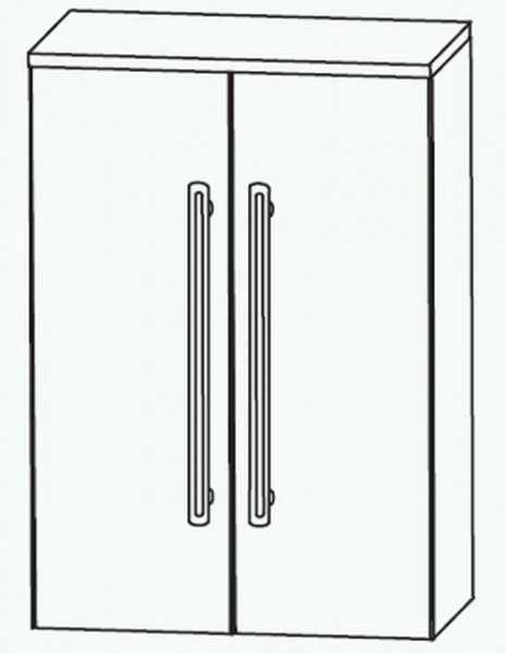 Puris Brillant Highboard 60 cm HBA6160A1