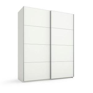 45S0 Schwebetürenschrank Dekor-/Hochglanzfront - Breite 181 cm
