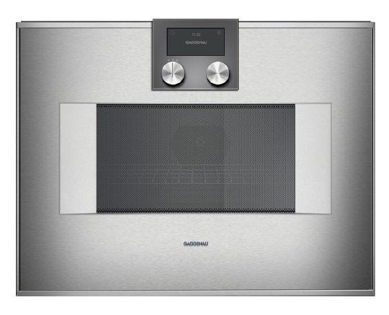 gaggenau mikrowellen backofen bm 451 110 edelstahl g nstig kaufen m bel universum. Black Bedroom Furniture Sets. Home Design Ideas
