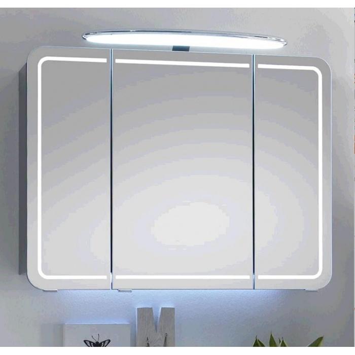 spiegelschr nke mit led beleuchtung spiegelschr nke bis 105cm g nstig kaufen m bel universum. Black Bedroom Furniture Sets. Home Design Ideas