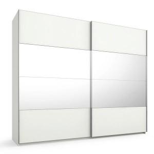 55S2 Schwebetürenschrank - 4 mittlere Türfelder in Spiegel - Breite 270 cm