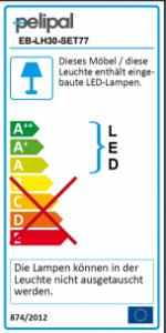 EB-LH30-SET 77 LED-Schattenfugen-Beleuchtung (nicht bei Glaswaschtischen möglich)