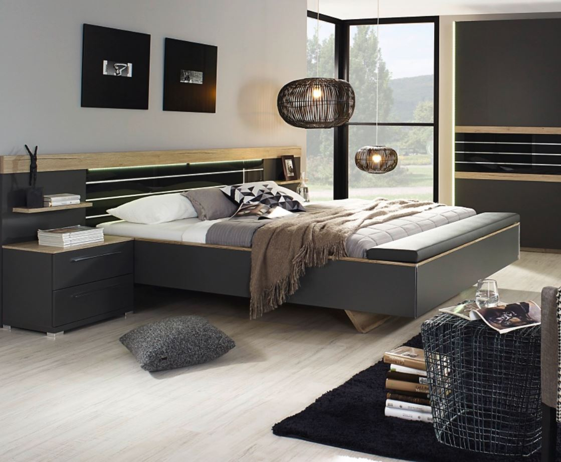 rauch dialog coleen bett mit sitzbank am fu teil g nstig. Black Bedroom Furniture Sets. Home Design Ideas