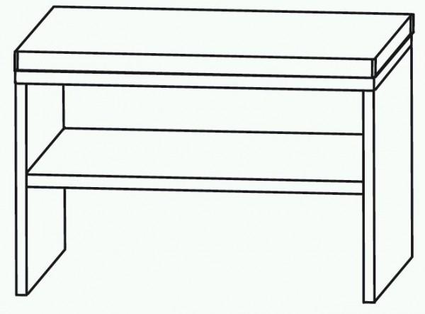 Puris Cool Line Sitzbank 60 cm SETBANK6
