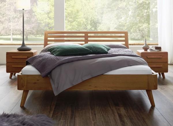 Massivholzbett Hasena Oak-Line Modul Soleo Masito