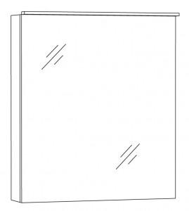 Spiegelschrank 60 cm SFLA6