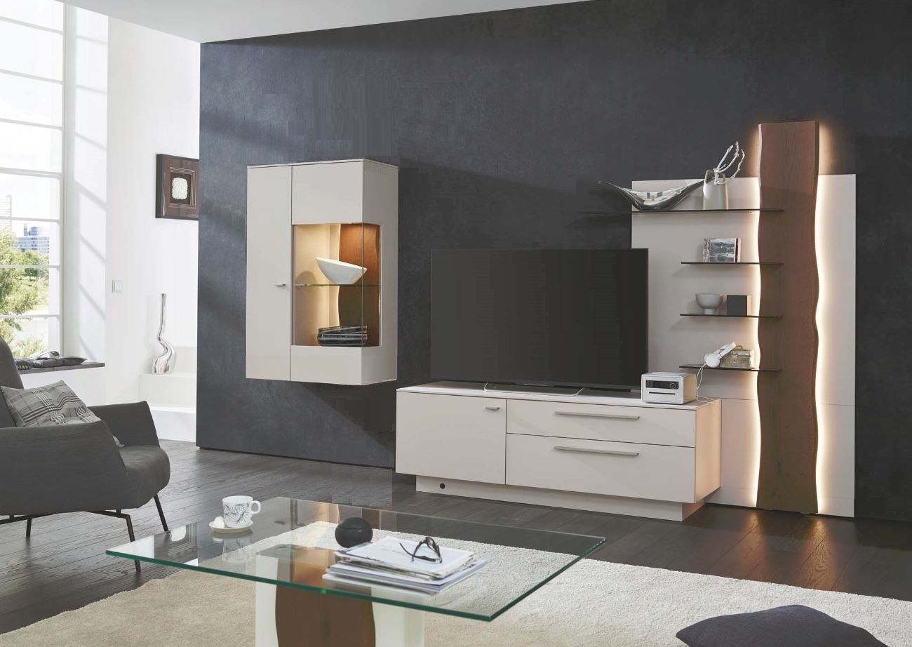 gwinner lucca wandkombination lc13 g nstig kaufen m bel universum. Black Bedroom Furniture Sets. Home Design Ideas