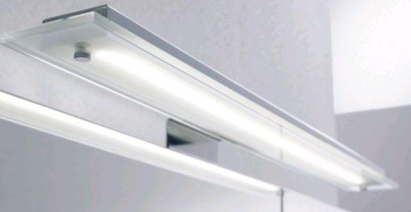 Pelipal Aufsatzleuchte für Flächenspiegel/Spiegelschrank - LS-I