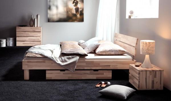 Hasena Wood-Line Bett Classic Duo Cantu
