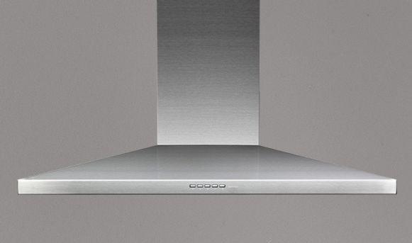 Falmec Mizar 90 ED, Design, Eckhaube, 90 cm, Edelstahl