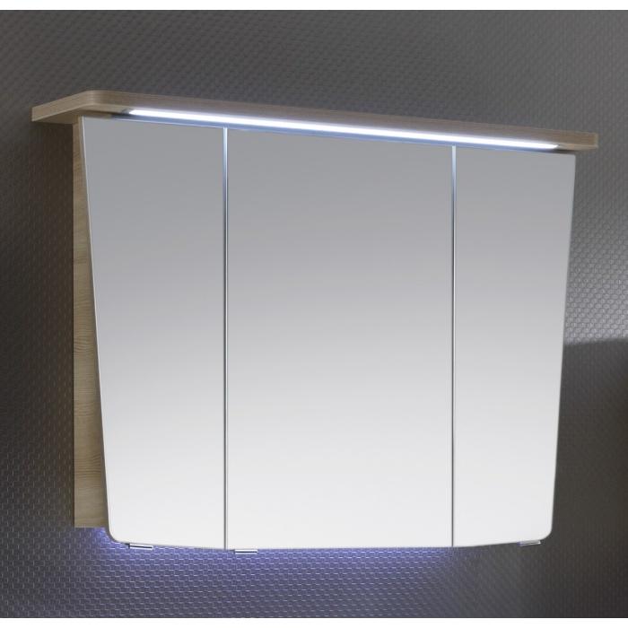 spiegelschr nke mit led beleuchtung spiegelschr nke bis 100cm g nstig kaufen m bel universum. Black Bedroom Furniture Sets. Home Design Ideas