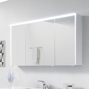 mit 6010-SPSB 05 Spiegelschrank mit LED-Lichtkranz oben, LED Profil seitlich, 3-trg