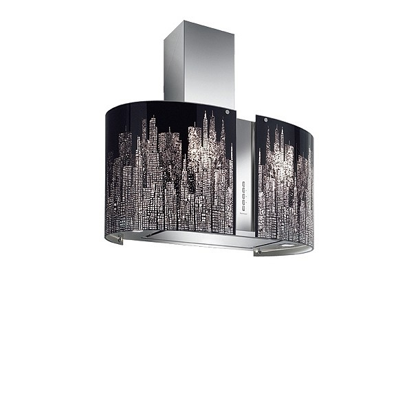 Falmec Manhattan I 85 LED, Mirabilia, Inselhaube, 85 cm breit