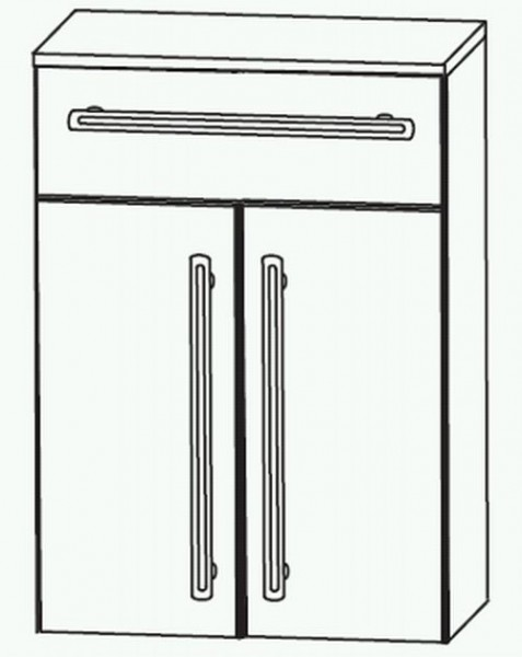 Puris Brillant Highboard 60 cm HBA6560A1