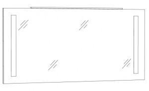Spiegelpaneel 140 cm SPFLS14